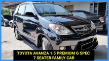 2008 TOYOTA AVANZA 1.5G 7 SEATER FAMILY CAR TIP TOP