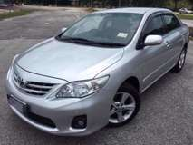 2012 TOYOTA ALTIS 1.8 G (A) DUAL VVTI NEW FACELIFT