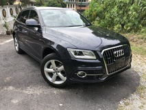 2015 AUDI Q5 2.0 S Line Quattro Unreg MMI Reverse Side Camera Pre Crash Blind Spot Assist No GST