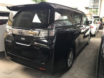 2015 TOYOTA VELLFIRE 2015 Toyota Vellfire 2.5 X SPEC FAMILY MPV POWER BOAT FULL VIEW CAMERA