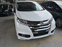2014 HONDA ODYSSEY 2.4/ABSOLITE EDITION/JAPAN/UNREG/SURROUNDING CAMERAS