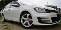 2013 VOLKSWAGEN GOLF 2013 VOLKSWAGEN GOLF GTI 2.0 TSI JAPAN SPEC SELLING PRICE ( RM 128,000.00 NEGO) BODY COLOR - WHITE