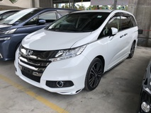 2014 HONDA ODYSSEY 2.4 Abolute i-VTEC Earth Dream Direct Injection 4 Surround Camera Rear Entertainment 7 Seat 2 Power Door Intelligent Bi LED Electrical Power Seat Multi Function Paddle Shift Steering Smart Entry Bluetooth Connectivity Unreg
