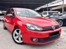 2013 VOLKSWAGEN GOLF  1.4 TSI (A) 1 MALAY OWNER
