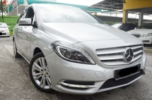 2013 MERCEDES-BENZ B-CLASS 200 1.6 (A) CBU FULL SERVICE RECORD