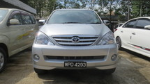 2006 TOYOTA AVANZA 1.3 (A)   1 OWNER LOW MILEAGE