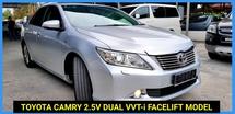 2015 TOYOTA CAMRY 2.5V Dual VVT-i NICE NUM PLATE