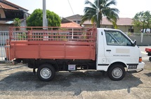 2009 Nissan Vanette PGC22  Wooden Kargo Body Pick Up Lorry , 1.5cc , Petrol , 8ft