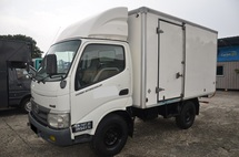 2012 Hino WU302R Box Van Bonded , 10ft , 5000kg , Green Engine Diesel 8816