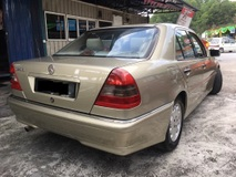 1997 MERCEDES-BENZ C-CLASS C200 ELEGANCE TIP-TOP CONDITION \'\'ON THE ROAD\'\'