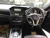 2013 MERCEDES-BENZ E-CLASS 2.0/AMG /JAPAN /UNREG