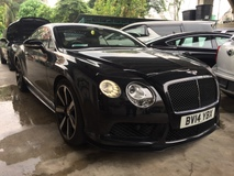 2014 BENTLEY CONTINENTAL 4.0 V8S NO GST Unregister