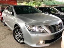 2015 TOYOTA CAMRY 2.5 (A) V NEW FACELIFT DUAL VVT-I ( DVVT-i ) 7 SPEED FULL SERVICE BY TOYOTA FULL LOAN