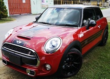 2015 MINI COUPE 2015 MINI COOPER S 2.0A TWIN TURBO NEW FACELIFT JAPAN SPEC SELLING PRICE ( RM 153,000.00 NEGO )