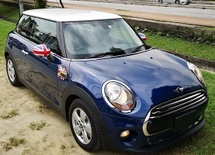 2014 MINI 3 DOOR 2014 MINI COOPER1.5 TWIN TURBO FACELIFT JAPAN SPEC SELLING PRICE ( RM 123000.00 NEGO )