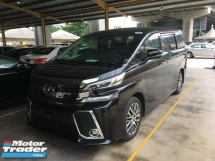 2016 TOYOTA VELLFIRE Unreg Toyota Vellfire ZG Pilot 7seather 360View Cam 7G Keyless Push Start