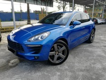 2015 PORSCHE MACAN PORSCHE MACAN S LOCAL LOW MILEAGE FULL SERVICE RECORD 4 YEARS FREE SERVICE BY PORSCHE MALAYSIA