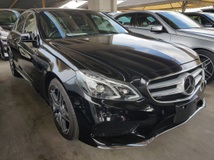 2013 MERCEDES-BENZ E-CLASS E250 AMG Sport Package Japan Unregistered