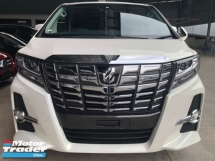 2017 TOYOTA ALPHARD 240S C PACKAGE SUNROOF