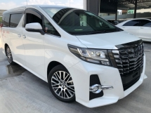 2017 TOYOTA ALPHARD 2.5 SA TYPE BLACK SUNROOF JBL PRECRASH