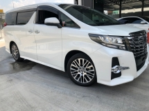 2018 TOYOTA ALPHARD 2.5 sc SUNROOF LEATHER SHOWROOM UNIT