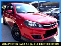 2014 PROTON SAGA 1.3 FLX CLERANCE OFFER PRICE