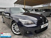 2008 BMW 5 SERIES REG 11 BMW 525I 3.0  M-SPORTS (A) E60 LCI PROMOTION PRICE.