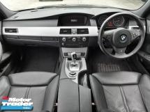 2008 BMW 5 SERIES REG 11 BMW 525I 3.0  M-SPORTS (A) E60 LCI PROMOTION PRICE.