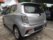 2016 PERODUA AXIA ADVANCE 1.0 FULL SPEC LEATHER SEAT GPS FULL LOAN PTPTN BLISTED CAN LOAN