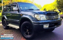 2001 TOYOTA PRADO 3.0 (A) Turbo Diesel *1KZ *Collector Edition *7 Seater *Cash & Carry