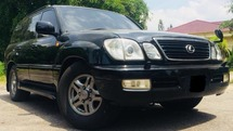2002 TOYOTA LAND CRUISER CYGNUS V8 4.7(A)BLACKY EDITION*LX 470*LX470*COLLECTION EDITION*WELL KEPT*LUXURY 4X4*CASH&CARRY