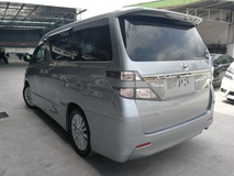 2013 TOYOTA VELLFIRE 2.4 Z SILVER GREY 7SEATER NO GST OFFER UNREG