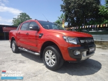 2014 FORD RANGER 2014 Ford Ranger Wildtrak 3.2(A) 1 VIP Owner Nice No