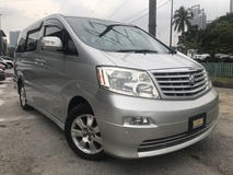2004 TOYOTA ALPHARD 2.4 (A) FULL SPEC LEATHER SEAT LIKE NEW