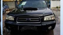 2004 SUBARU FORESTER 2.0 SG5 TURBO TIPTRONIC