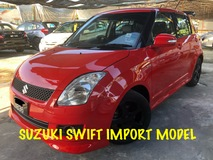 2011 SUZUKI SWIFT SPORT SUPER RED COLOR