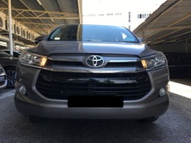 2017 TOYOTA INNOVA 2.0G (AT) LOW MILEAGE WITH TOYOTA SERVICE RECORD