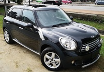 2013 MINI Clubman 2013 MINI COUNTRYMAN 1.6A JAPAN SPEC UNREG CAR SELLING PRICE ( RM 108000.00 NEGO ) CAR BODY  BLACK