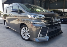 2015 TOYOTA VELLFIRE 2015 Toyota Vellfire 2.5 ZA 2 Power Door 7 Seater Unregister for sale