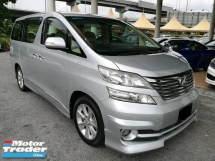 2008 TOYOTA VELLFIRE 3.5 (A) 8 Seaters