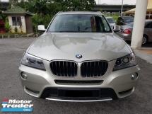2012 BMW X3 2.0 xDrive20i (A)