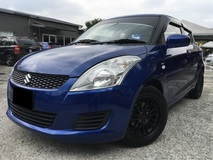 2012 SUZUKI SWIFT 1.4 GLX ONE OWNER NEW FACELIFT SPORT RIMS NEW TYRE NO REPAIR NEED