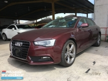 2014 AUDI A5 Unreg Audi A5 Exclusive Sporrback Camera MMI Push Start Keyless 7G