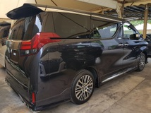 2016 TOYOTA ALPHARD Alphard 2.5 SC Theatre 4 Camera Unregistered