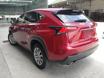 2015 LEXUS NX NX2OOT I PACKAGE RED OFFER NO GST UNREG