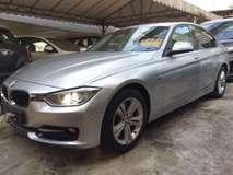 2012 BMW 3 SERIES 320D 2.0 Sport Facelift Service Record 118K km FREE Warranty