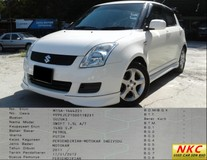 2011 SUZUKI SWIFT 1.5L (A) GX BODY KITS FACELIFT MINT CONDITION