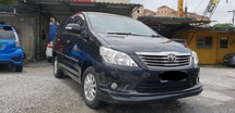 2013 TOYOTA INNOVA 2.0G (AT) Super low mileage 45000KM only