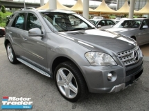 2011 MERCEDES-BENZ ML ML300 4 MATIC AMG (A) CBU