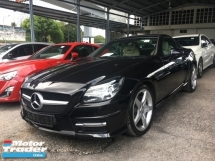 2015 MERCEDES-BENZ SLK Unreg Mercedes Benz SLK200 1.8 Turbo AMG Convetible Top 7Speed Sport Car